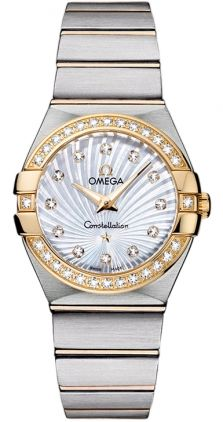 123.25.27.60.55.004 Omega Constellation Lady