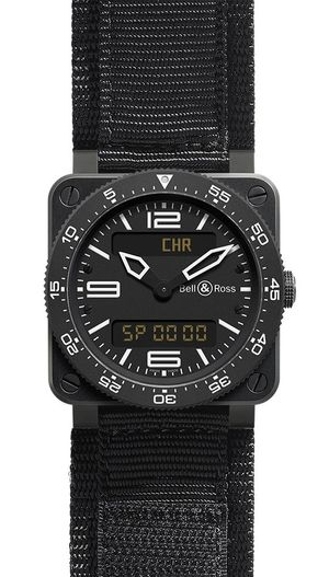 Bell & Ross BR 03 Type Aviation BR 03 CarbonSatin