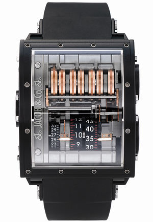 Quenttin Black Magnesium Jacob & Co Grand Complication Masterpieces