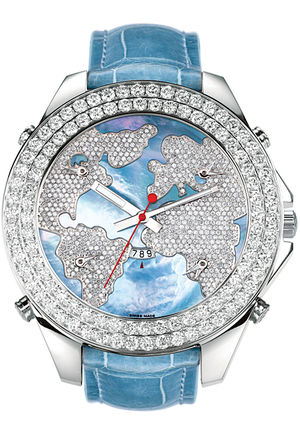JC - 47JWB Jacob & Co Five Time Zone World Is Yours