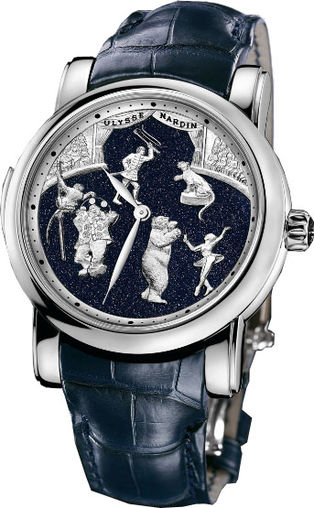 740-88 Ulysse Nardin часы Circus Minute Repeater Limited 30