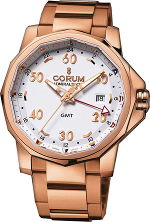 383.330.55/V700 AA12 Corum Admirals Cup GMT