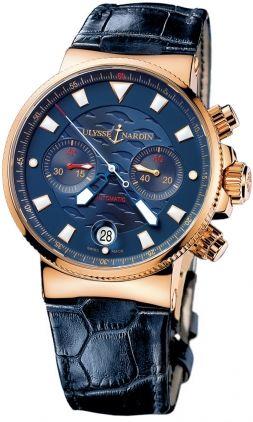 356-68LE Ulysse Nardin Marine Chronograph