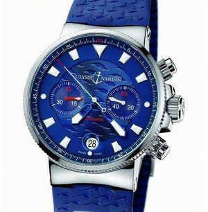 353-68LE Ulysse Nardin Marine Chronograph