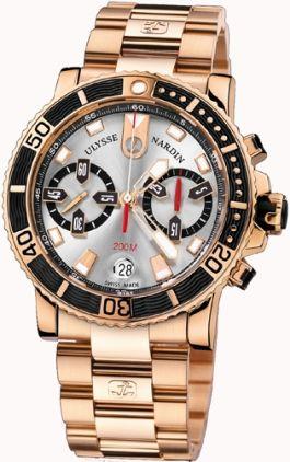 8006-102-8m/91 Ulysse Nardin Diver Chronograph