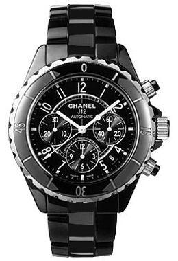 H0940 Chanel J12 Black