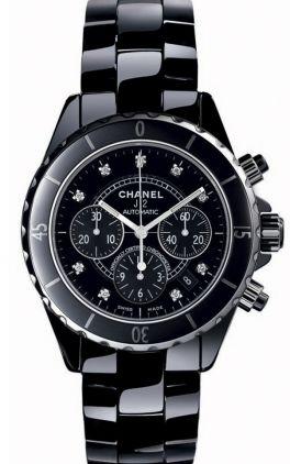h2419 Chanel J12 Black