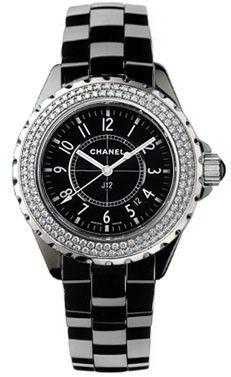 Chanel J12 Black H0949