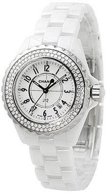 H0967 Chanel J12 White