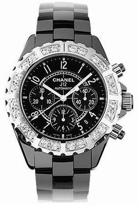 H1178 Chanel J12 Black