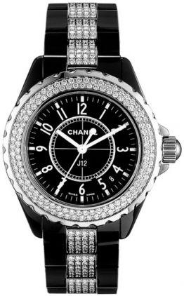 Chanel J12 Black H1338