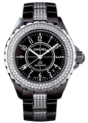 Chanel J12 Black h1339