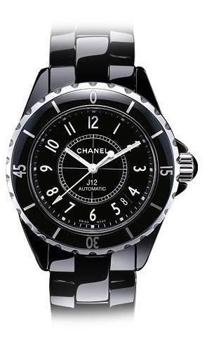 Chanel J12 Black h0685