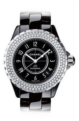 Chanel J12 Black h0950