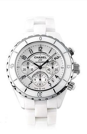 H1007 Chanel J12 White
