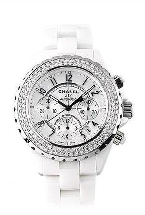 h1008 Chanel J12 White