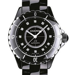 Chanel J12 Black h1626