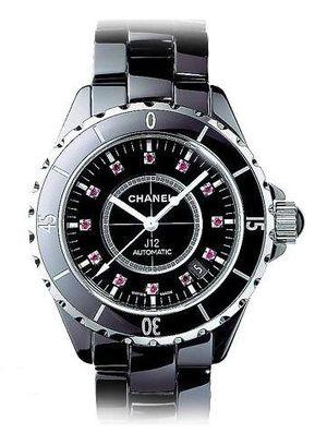 Chanel J12 Black h1635