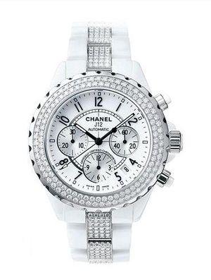 h1707 Chanel J12 White