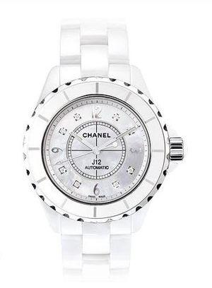 Chanel J12 White h2423