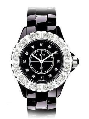 Chanel J12 Black h2428