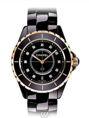 Chanel J12 Black h2544