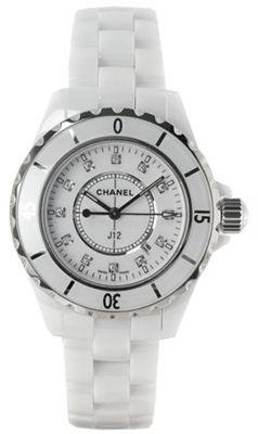 Chanel J12 White H1628