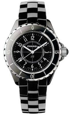 Chanel J12 Black H0682