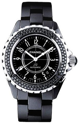 Chanel J12 Black H1417