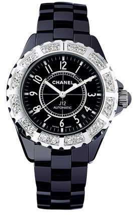 Chanel J12 Black h1174