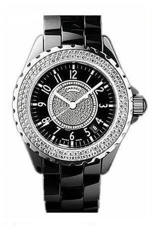 Chanel J12 Black h1709