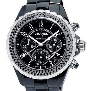 H1419 Chanel J12 Black