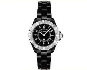 Chanel J12 Black h1173