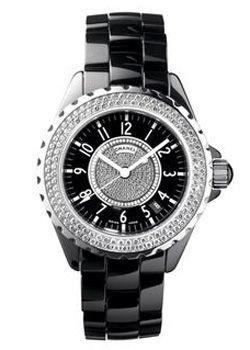 Chanel J12 Black h1708