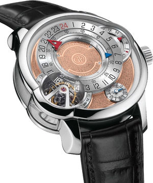 ip3-pt-silver&golden Greubel Forsey Tourbillon 24 Secondes