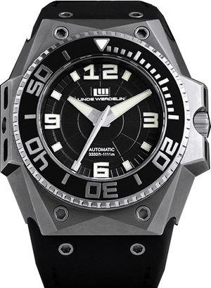 oktopus-titanium-black-bezel Linde Werdelin Oktopus
