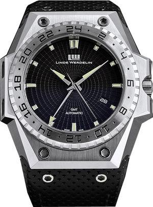 3-timer-steel-black-dial Linde Werdelin 3 Timer