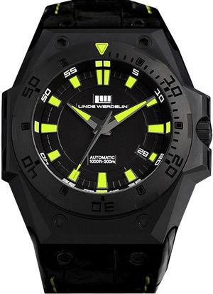 Linde Werdelin The one hard-black