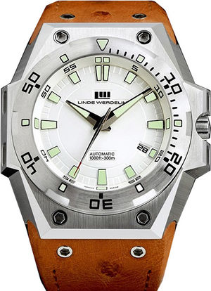 Linde Werdelin The one the-one-steel-silver-dial