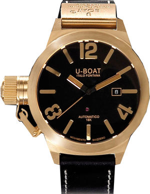1242 U-Boat Gold Watches
