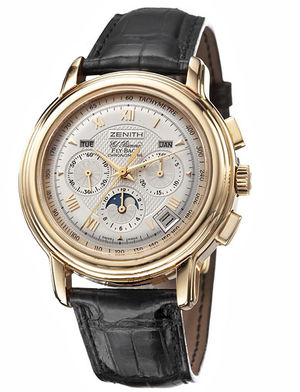 Zenith Chronomaster Old model 35-1240-400101C495GB