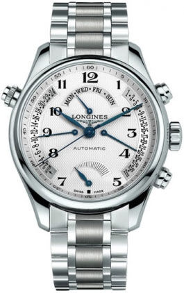 L2.716.4.78.6 Longines Master Retrograde Collection