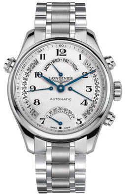 L2.717.4.78.6 Longines Master Retrograde Collection