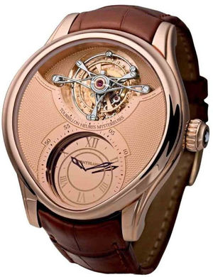 Heures Mysterieuses Rose gold Montblanc 1858