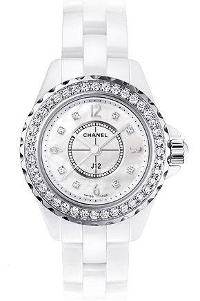 H2572 Chanel J12 White