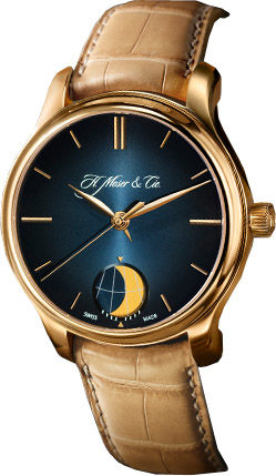 1348-0100 H.Moser & Cie Endeavour Perpetual Moon