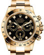 Rolex Cosmograph Daytona 116508 Black set with diamonds