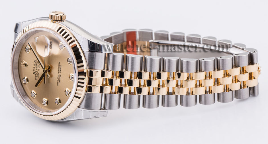 116233 champagne diamond dial jubilee Rolex Datejust 36