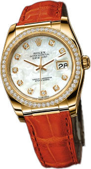 116188 mother of pearl dial diamond Rolex Datejust 36