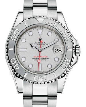 168622 Platinum Rolex Yacht-Master